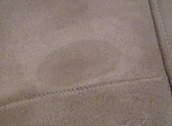Как удалить масляное пятно на дубленке фото